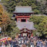 鶴岡八幡宮へ初詣デート2019 カップルで行くと別れる?混雑を避けるには?